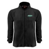 Fleece Full Zip Black Jacket-NW Missouri Stacked