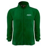 Fleece Full Zip Dark Green Jacket-NW Missouri Stacked