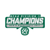Small Magnet-NCAA Division II Mens Basketball Champions - Stencil