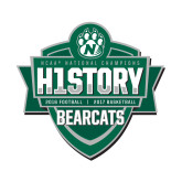 Small Magnet-History Shield Logo