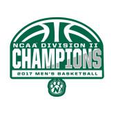 Medium Magnet-NCAA Division II Mens Basketball Champions - Half Ball