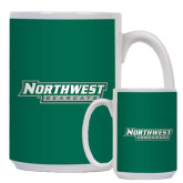 Full Color White Mug 15oz-Northwest Bearcats