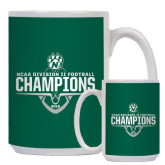 Full Color White Mug 15oz-NCAA DII Football Champions 2016