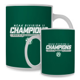 Full Color White Mug 15oz-NCAA Division II Mens Basketball Champions - Stencil