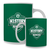 Full Color White Mug 15oz-History Shield Logo