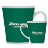Full Color Latte Mug 12oz-Northwest Bearcats