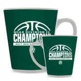 Full Color Latte Mug 12oz-NCAA Division II Mens Basketball Champions - Half Ball