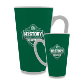 Full Color Latte Mug 17oz-History Shield Logo