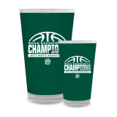 Full Color Glass 17oz-NCAA Division II Mens Basketball Champions - Half Ball
