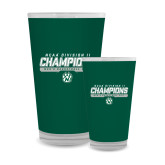 Full Color Glass 17oz-NCAA Division II Mens Basketball Champions - Stencil