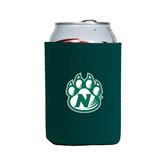 Collapsible Green Can Holder-Official Logo