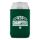 Neoprene Green Can Holder-NCAA Division II Mens Basketball Champions - Half Ball