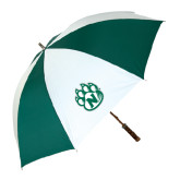 Forest Green/White Umbrella-Official Logo