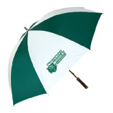 Forest Green/White Umbrella-Northwest Missouri Bearcats w/ Cat