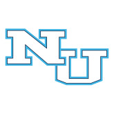 Large Decal-NU Athletic Mark, 12 inches wide