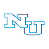 Small Decal-NU Athletic Mark, 6 inches wide