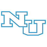 Extra Large Decal-NU Athletic Mark, 18 inches wide