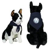 Navy Pet Bandana-Primary Athletic Mark