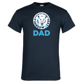 Navy T Shirt-Dad with Athletic Mark