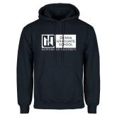 Navy Fleece Hoodie-DeVos Graduate School