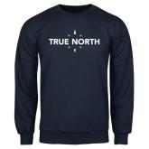 Navy Fleece Crew-True North