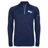 Under Armour Navy Tech 1/4 Zip Performance Shirt-NU Athletic Mark