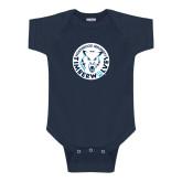 Navy Infant Onesie-Primary Athletic Mark