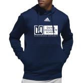 Adidas Navy Team Issue Hoodie-DeVos Graduate School