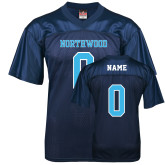 Replica Navy Adult Football Jersey-Northwood