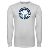 White Long Sleeve T Shirt-Primary Athletic Mark