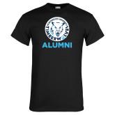 Black T Shirt-Alumni with Athletic Mark