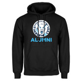 Black Fleece Hoodie-Alumni with Athletic Mark