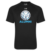 Under Armour Black Tech Tee-Alumni with Athletic Mark