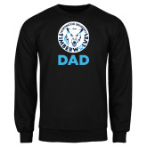 Black Fleece Crew-Dad with Athletic Mark
