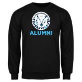 Black Fleece Crew-Alumni with Athletic Mark