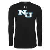 Under Armour Black Long Sleeve Tech Tee-NU Athletic Mark
