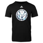 Adidas Black Logo T Shirt-Primary Athletic Mark