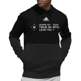 Adidas Black Team Issue Hoodie-Where Will Your True North Lead You