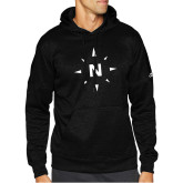 Adidas Black Team Issue Hoodie-North Compass