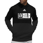 Adidas Black Team Issue Hoodie-DeVos Graduate School