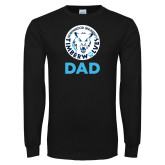Black Long Sleeve T Shirt-Dad with Athletic Mark
