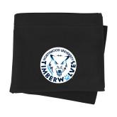 Black Sweatshirt Blanket-Primary Athletic Mark