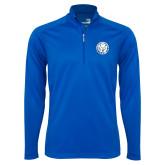 Syntrel Royal Blue Interlock 1/4 Zip-Primary Athletic Mark