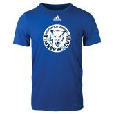 Adidas Royal Logo T Shirt-Primary Athletic Mark