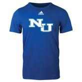 Adidas Royal Logo T Shirt-NU Athletic Mark