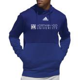 Adidas Royal Team Issue Hoodie-Institutional Mark Horizontal