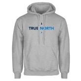 Grey Fleece Hoodie-True North