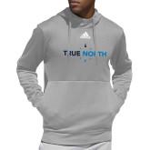 Adidas Grey Team Issue Hoodie-True North