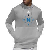 Adidas Grey Team Issue Hoodie-North Compass