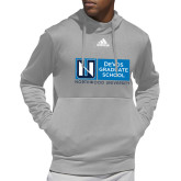 Adidas Grey Team Issue Hoodie-DeVos Graduate School
